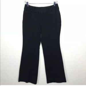 GAP Harper Stretch Women's Black Trousers Size 6A
